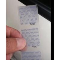 Fly-eye 3d printing label